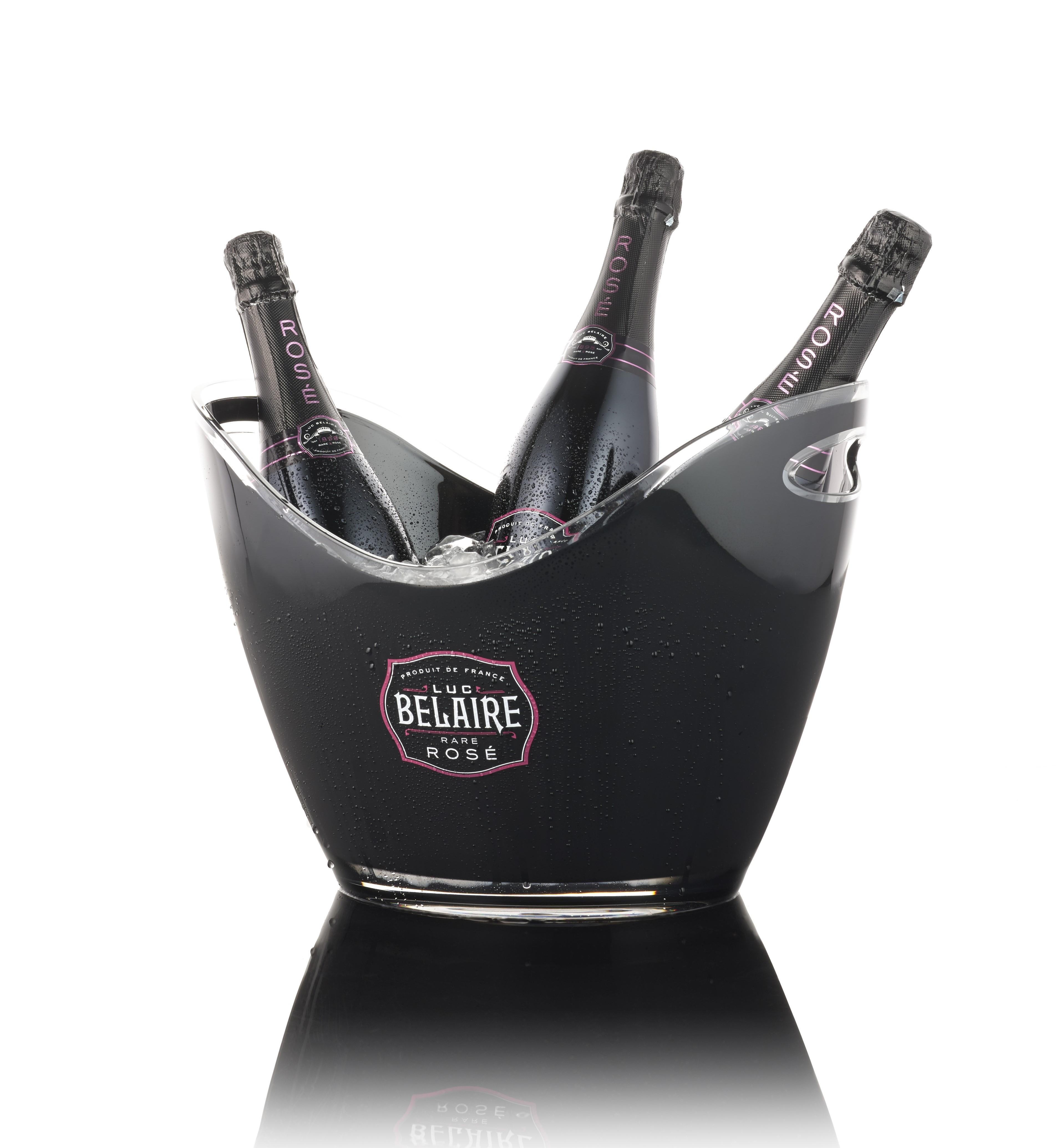 Luc Belaire Rosé Bucket Fantôme (12,5 % Vol.)